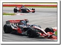 Alonso Leads Hamilton