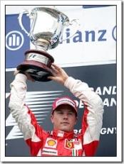 Kimi Raikkonen - Image Courtesy BBC Sport