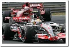 Hamilton Leads Kimi