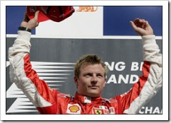 Kimi Triumphs at Spa