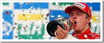 Kimi Raikkonen - 2007 Formula One Champion
