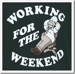 Working on a Weekend