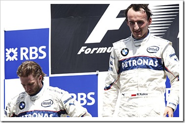 Kubica & Heidfeld - BMW's First 1-2 Finish
