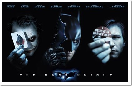 The Dark Knight Poster - Joker, Batman & Dent