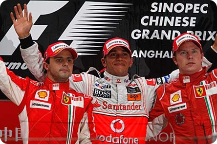 Chinese Grand Prix - Top Three
