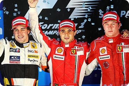Brazilian Grand Prix Podium