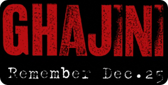 Ghajini Website
