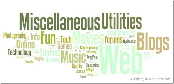 Technorati Wordle