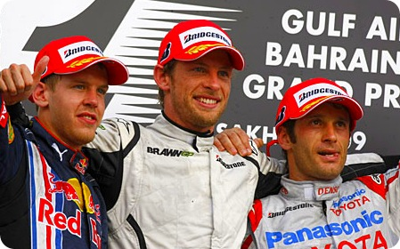 Bahrain Grand Prix Race Results