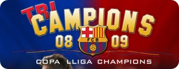 FC Barcelona - Treble Winners