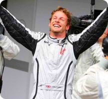 Jenson Button Wins 2009 F1 Championship