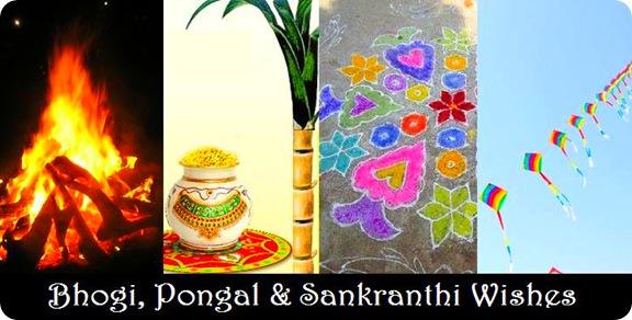 Bhogi Pongal Sankranthi Wishes