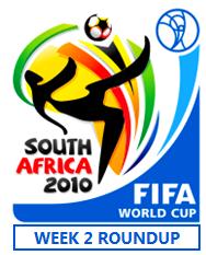 FIFA World Cup Week 2 Roundup