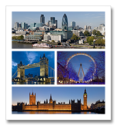 London Collage. Image Courtesy Wikimedia Commons