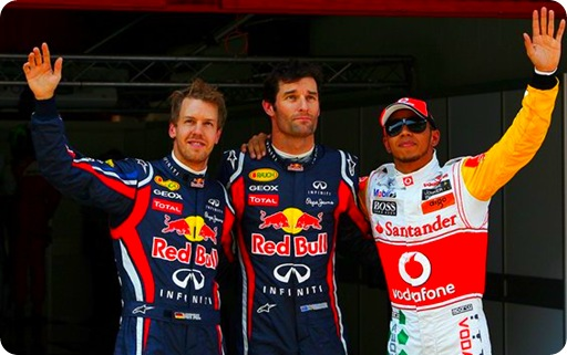 Spanish Grand Prix Grid