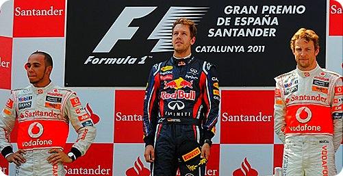 Spanish Grand Prix Podium