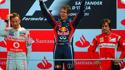 Italian Grand Prix Podium