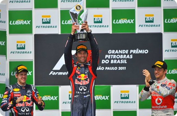 Brazilian Grand Prix Race Results