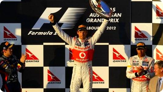 Australian Grand Prix Podium