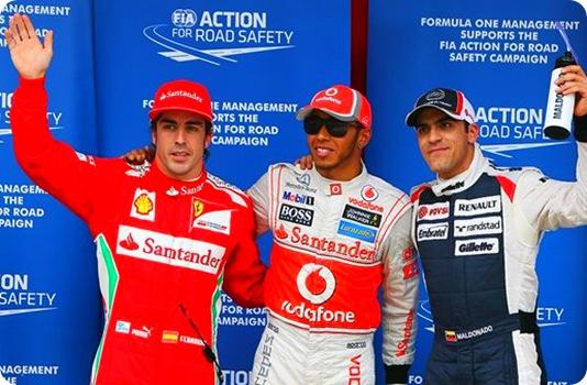 Spanish Grand Prix Qualifying