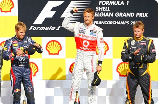 Belgian Grand Prix Winners