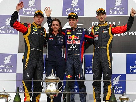 2013 Bahrain Grand Prix Winners