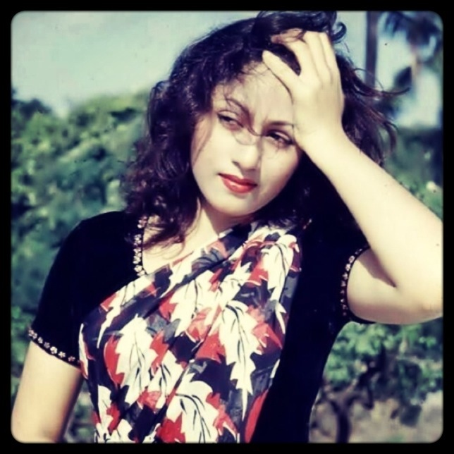 Madhubala Colour Photo